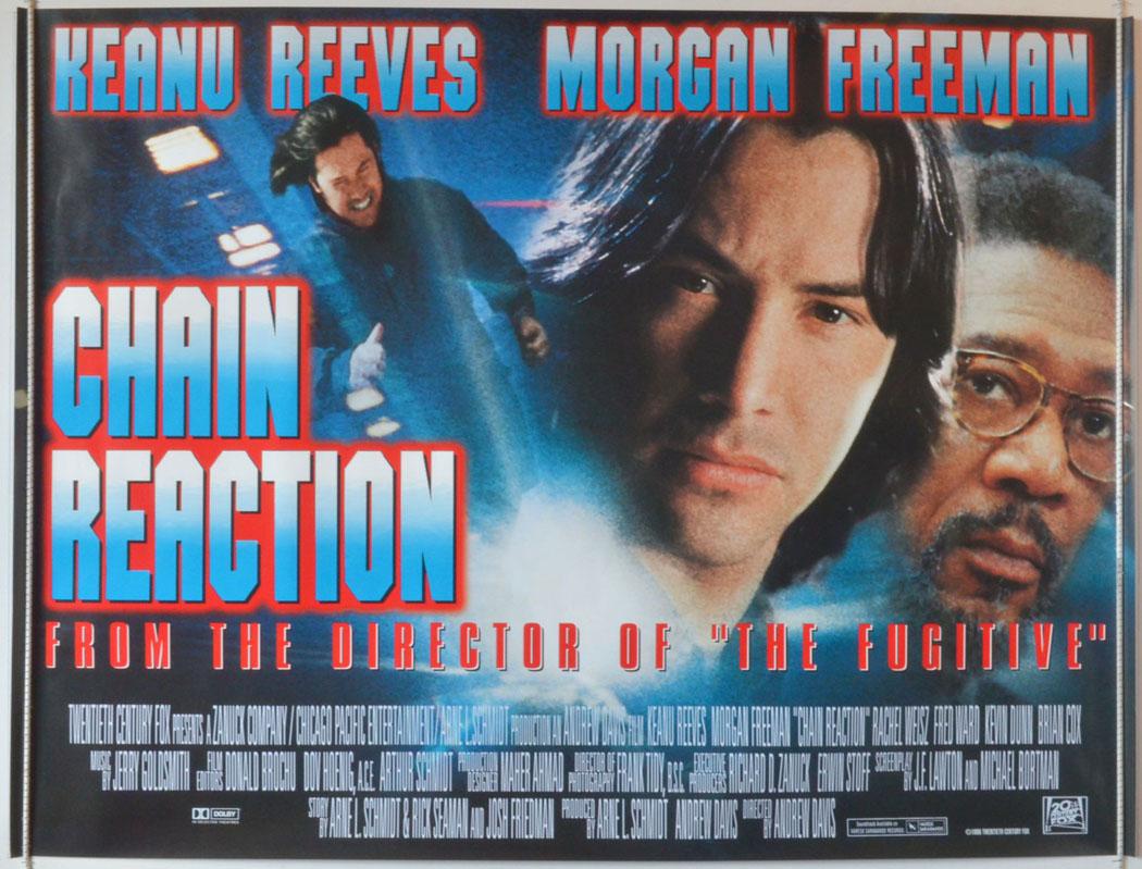 Keanu Reeves en Reacción en Cadena