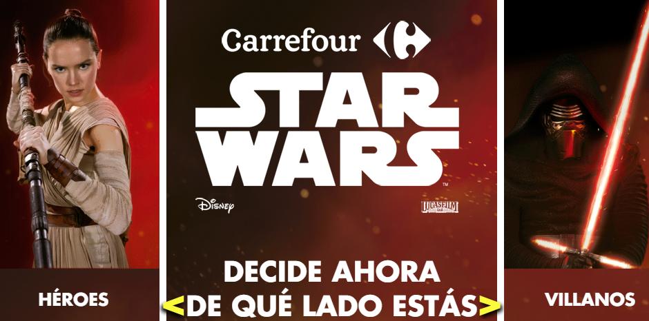 star wars llega a carrefour